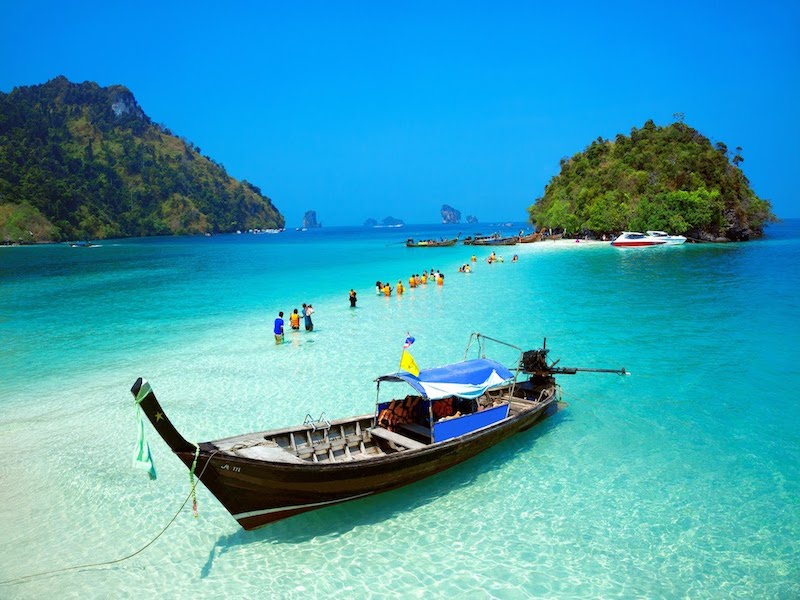 4 Islands Sightseeing and Snorkeling Tour by Longtail Boat from Krabi - Joint Tour