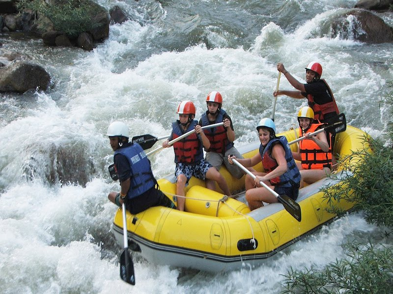 White Water Rafting along Songprak River with ATV Ride and Elephant Trek Options from Khao Lak - Joint Tour